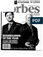 Lenovo Forbes Magazine