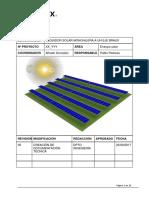 Xx Yyy Memoria Técnica Básica Seguidor Solar Braux Monohilera r00