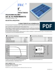 Solartec - Panel Solar - Hoja Técnica - Policristalino - KS3T-6V