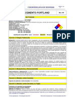4 MSDS- Cemento Portland