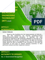 Draft Cmo for Bachelor of Engineering Technology.ppt