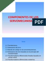 Componentes de Los Servomecanismos