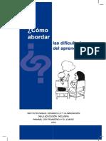 Cómo abordar las dificultades de aprendizaje.pdf