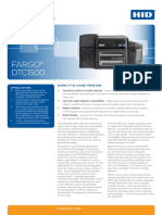 Fargo DTC1500 Printer