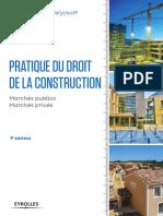 Pratique Du Droit de La Construction - EYROLLES