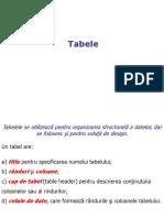 HTML4 tabele