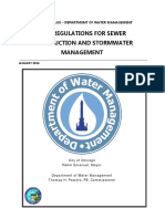 2016 Storm Water Regulations