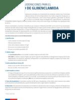 Consideraciones Uso Glibenclamida 03012018