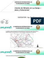 07 - Ing. Raúl Espinoza - CIA Buenaventura - La Zanja