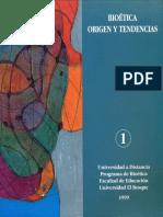 Pedagogia y Bioetica Vol1