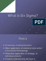 Six Sigma - I