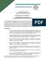 Reglamento 29782 Mag. Organico