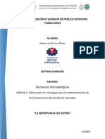 Ensayo D.M (Unidad 3)