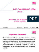 Encuesta Calidad Vida ECV_2012_RegionCentral