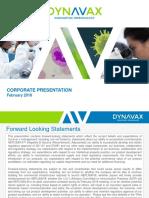 DVAX Coporate Presentation  strong buy...