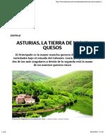 Asturias, la tierra de los 42 quesos | El Correo