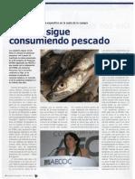 Consumo de Pescado Congelado en España. Junio 2011