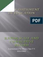 Assessment in Education