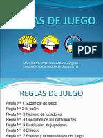 Juzgamiento Futsal Reglas de Juego 1 a La 7