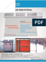 Catalogo Cortina de Ar Industrial