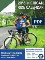 2018  Michigan Ride Calendar