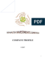 Sehalta Investments Ltd Company Profile....