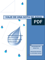 Programación Didáctica Viaje de Una Gota de Agua