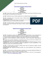 Ação Rescisória(CPC) e Revisão Criminal(CPP) - Regimento