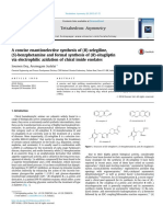 A Concise Enantioselective Synthesis of (R)-Selegiline