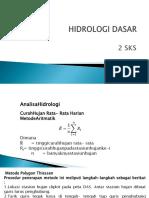 Hidrologi Dasar