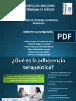 Adherencia Terapeutica Final