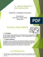 Ecologia, Medio Ambiente y Su Contaminacion