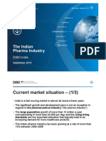 The Indian Pharma Industry