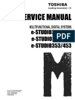 Service Manual Toshiba E-studio 452