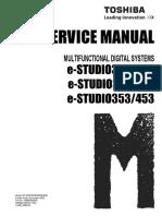 Service Manual Toshiba E-studio 452