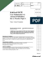 C2 Practice Paper A1