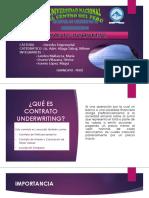 Contrato Under Writing