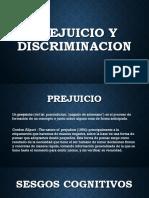 Prejuicio y Discriminacion