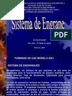 Turbinas de Gas Sistema de Engrane
