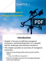 The Fundamentals of  Managerial Economics