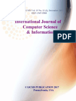 Journal of Computer Science IJCSIS December 2017 Part I