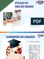 Capitulo VII Examenes de Grados