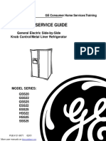 General Electric Refrigerator ESS25