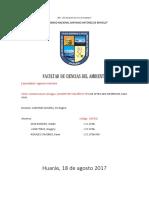 Contaminación de Agua Perú