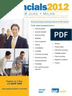 Financials 2012 Milan Brochure