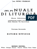MANUALE DI LITURGIA Vol II. Divino Ufficio