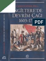 0873 Ingilterede Devrim Chaghi 1603 1714 Christopher Hill