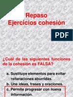 Ejercicios coherencia cohesión.hc.ppt