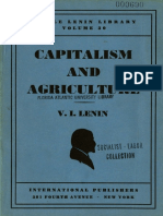 1946 Lenin Capitalism and Agriculture