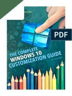 The Complete Windows 10 Customization Guide v2 eBook